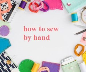 sew by hand